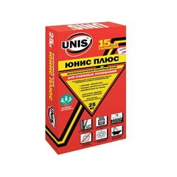 Клей для плитки Юнис плюс. Unis. 25 кг - фото 5316